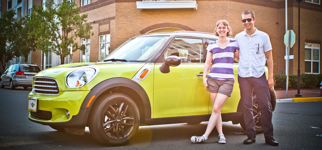 Grand Prize Winners of The MINI Countryman Sweepstakes