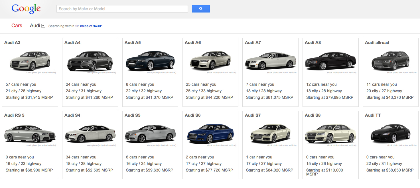 New Google Tool for Online Car Sales | Tier10lab