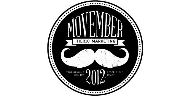 Tier10 Participating in Movember, Collecting Donations