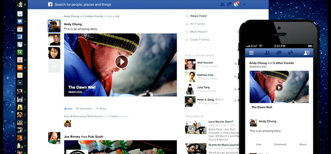 Facebook's Revamped News Feed Design to Be More Visual