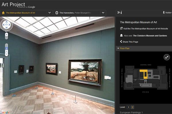 Google Art Project Museum Tour Feature