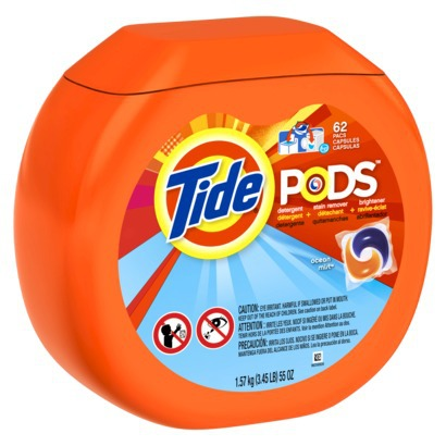 The New, Opaque Design for Tide Pods