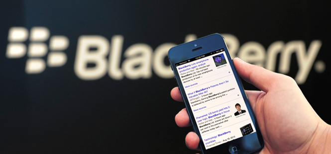 BlackBerry Searches for a Savior