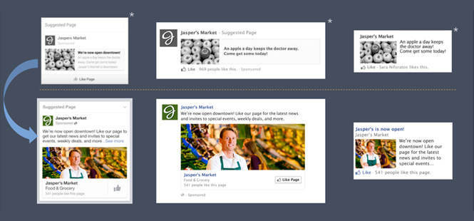 Facebook Standardizes Image Sizes for Ads