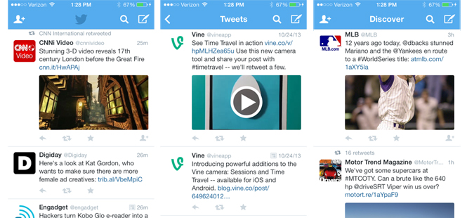 Twitter Unveils In-Stream Photos and Videos in Redesign