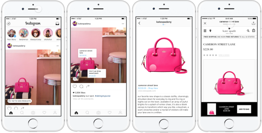 Mobile Window Shopping: Browse to Buy Experience Coming to Instagram