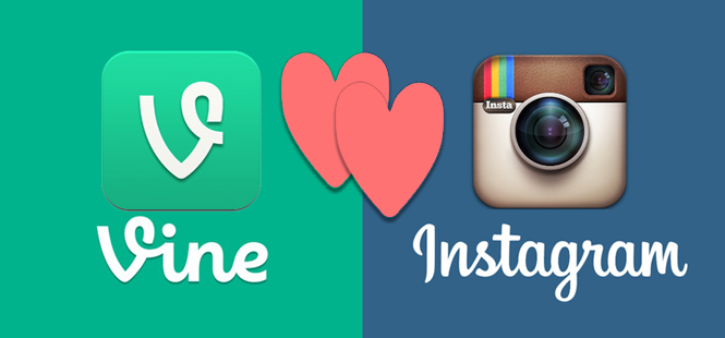 Vine & Instagram: So Happy Together?