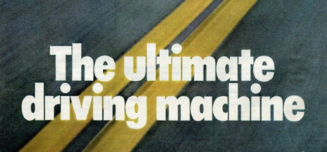 Throwback Thursday: BMW's Ultimate Driving Machine